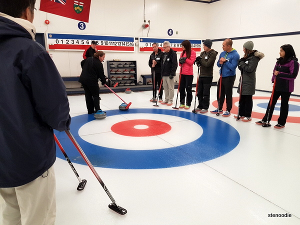 Unionville Curling Club curling lesson