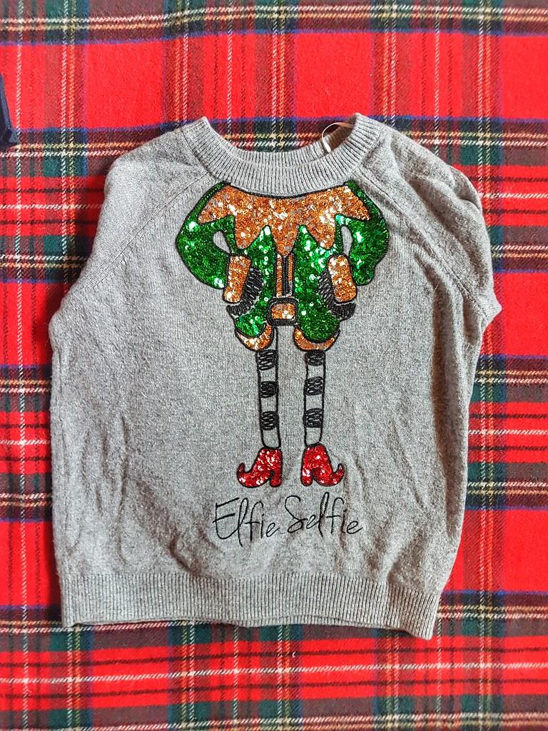 Elfie Selfie Christmas Sweater