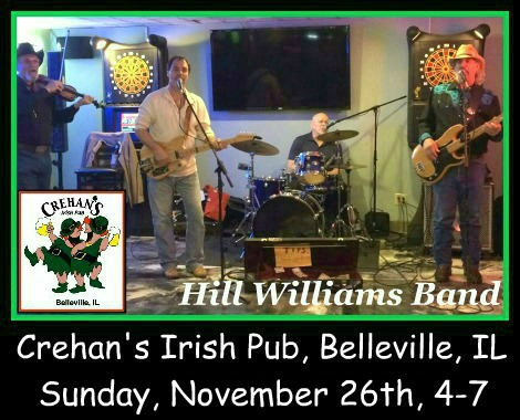Hill Williams Band 11-26-17