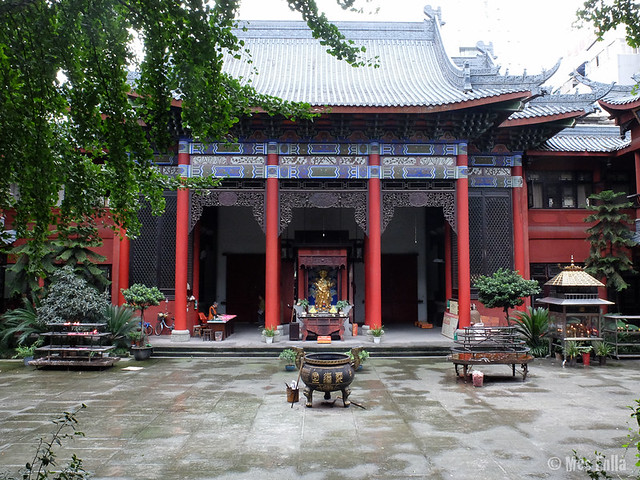 Wenshu Temple en Chengdu