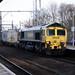 essex - freightliner 66520 passes chelmsford 30-11-17 JL