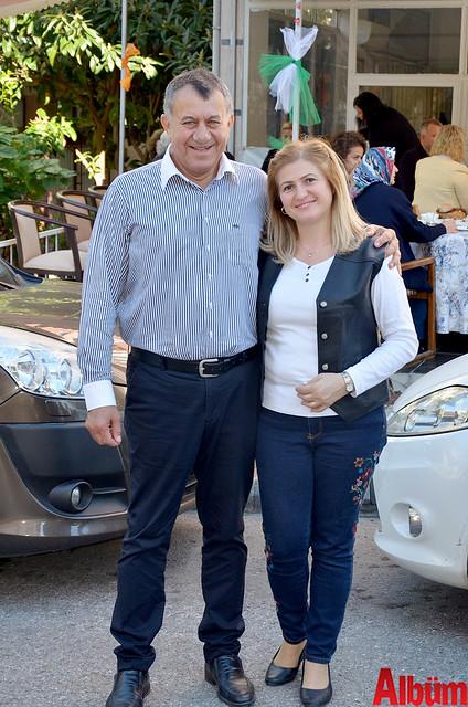 Alanya Konyalılar ve Karamanlılar Derneği Başkanı Hüseyin Şahin ve Filiz Şahin