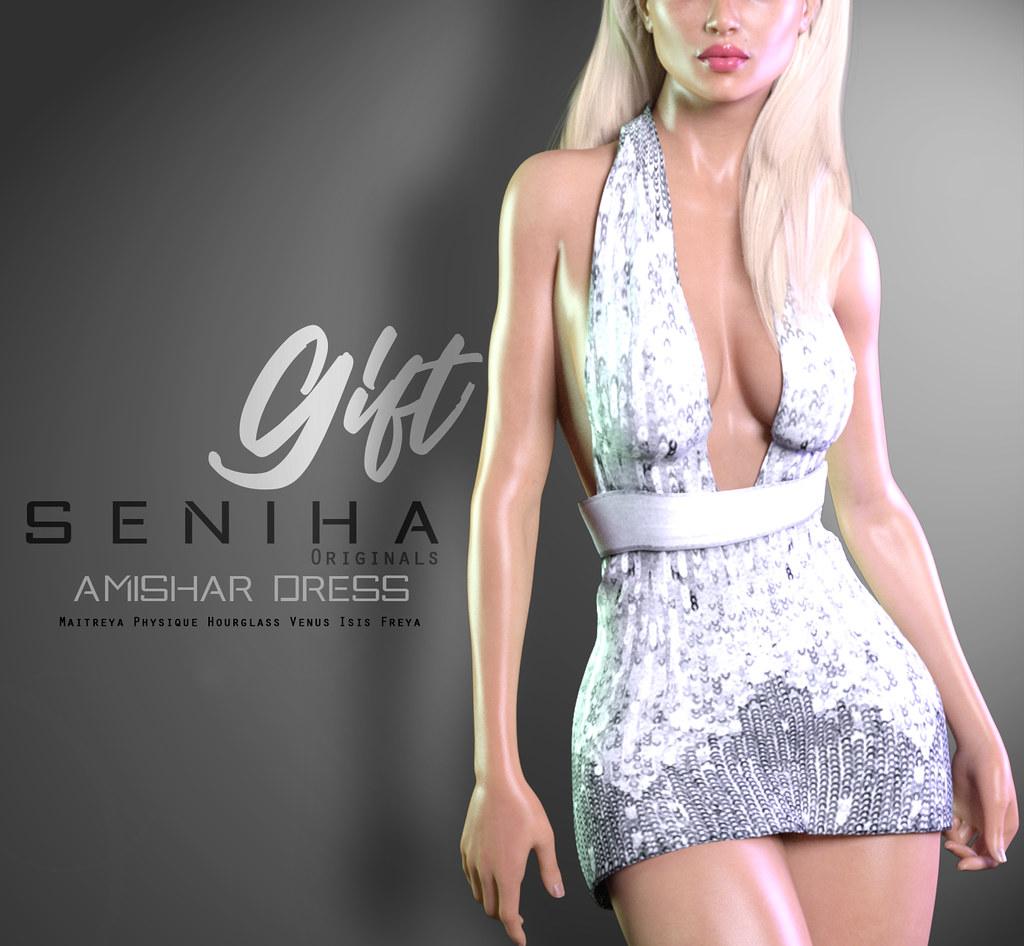Seniha.Amishar Dress // GIFT - TeleportHub.com Live!