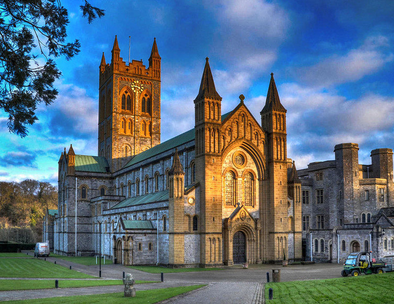 Buckfast Abbey, Devon. Credit Baz Richardson, flickr
