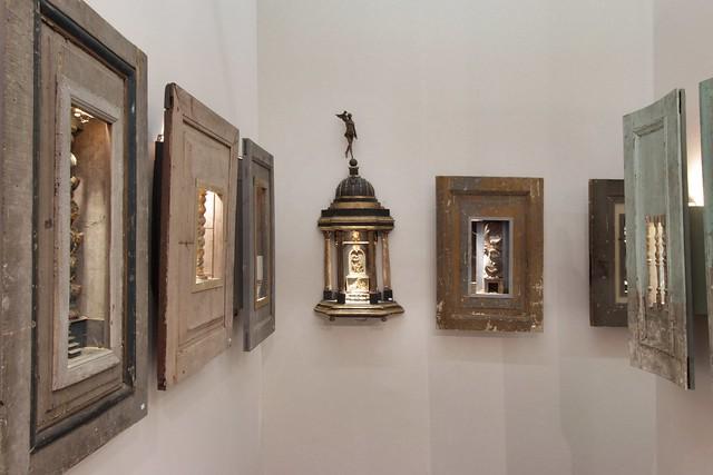 Peter Gabrielse box art, exhibiting at Antica Namur