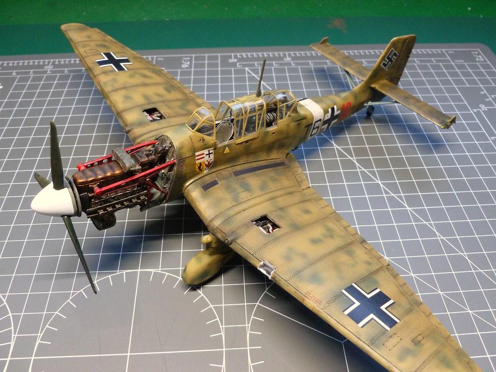 Airfix 1/48 Ju87 Stuka - Ready for Inspection - Aircraft