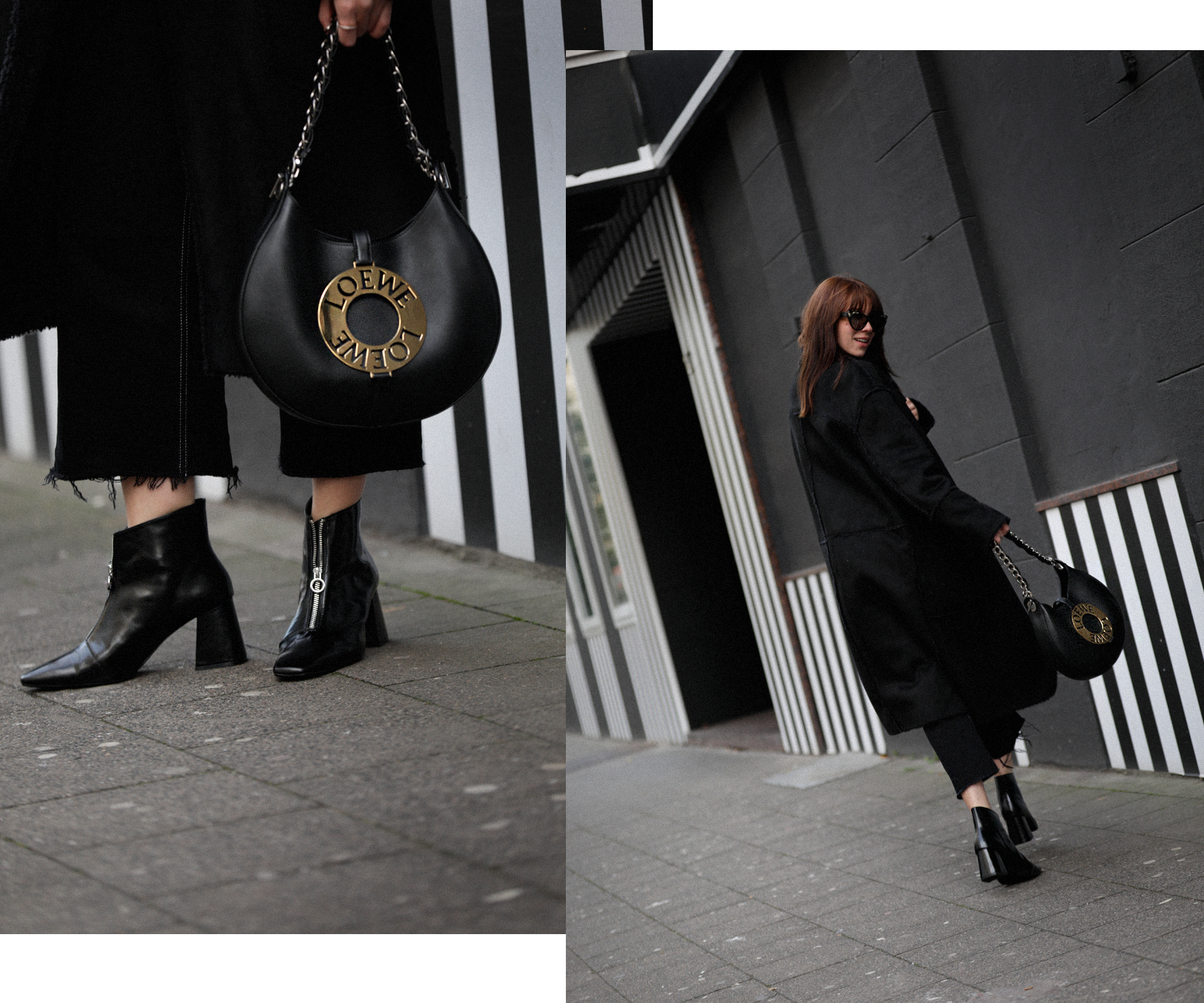 outfit black coat mango zara allblack allblackeverything winterlook fall winter fashion fashionblogger düsseldorf germany cats & dogs modeblog styleblog 5