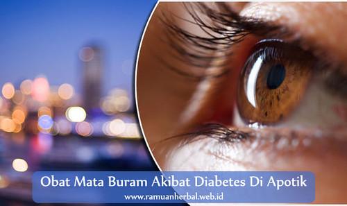 Obat Mata Buram Akibat Diabetes Di Apotik