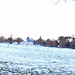 Daylight snow at the Magical Lantern Festival in Kings Heath Park - panoramic