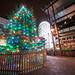 Christmas Tree and Ferris Wheel, Bristol, UK