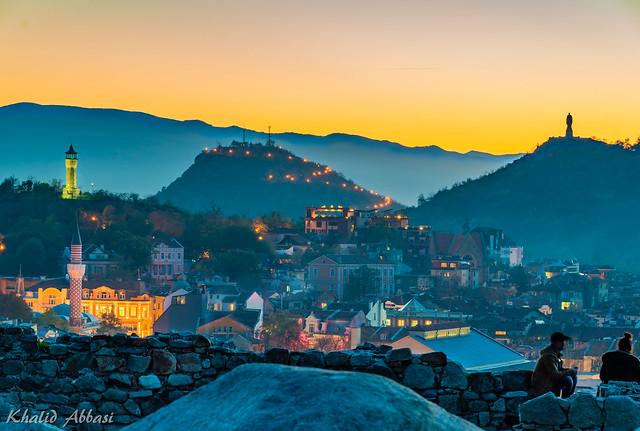 """Hazy Dusk"" - From Nebet Hill. Plovdiv, Bulgaria."