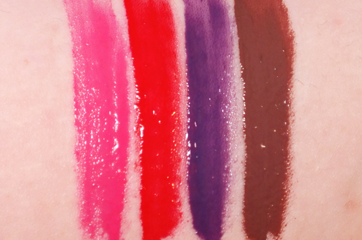too faced melted latex liquified high shine lipstick swatches (1)