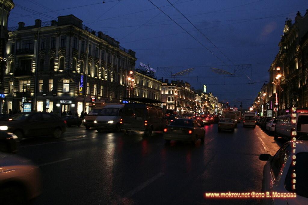 Невский проспект, Санкт-Петербург.