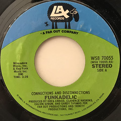 FUNKADELIC:CONNECTIONS AND DISCONNECTIONS(LABEL SIDE-A)
