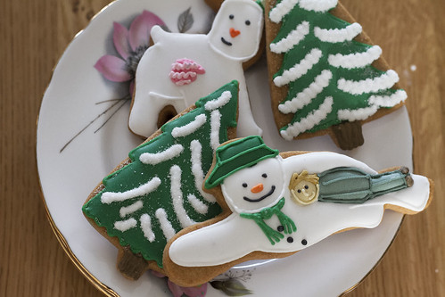 THE SNOWMAN CLOSE UP BISCUITS