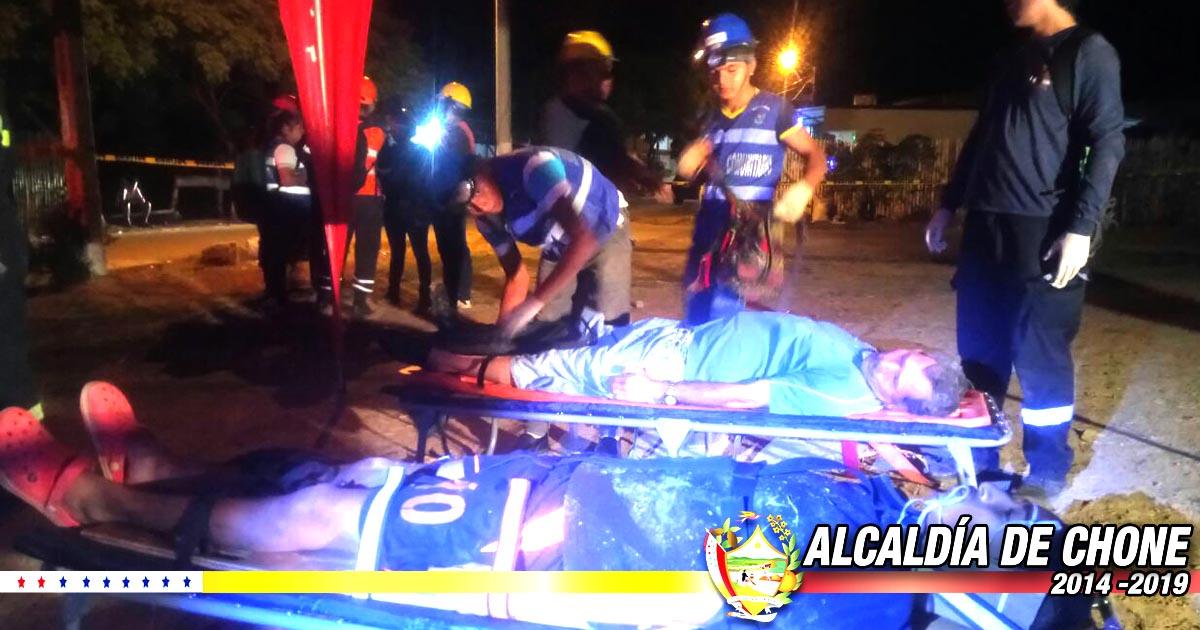 Realizaron simulacro de emergencia en barrio Miraflores