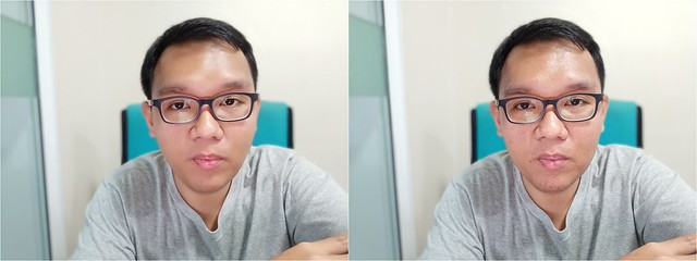 Beauty Mode vs Normal 001