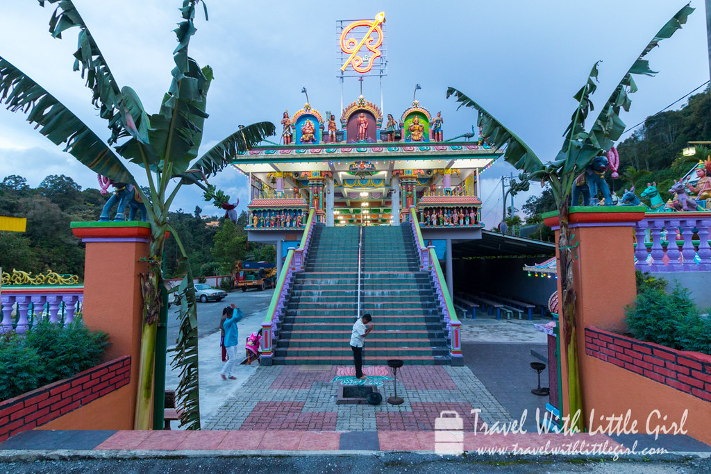 Indian Temple at Cameron Highlands