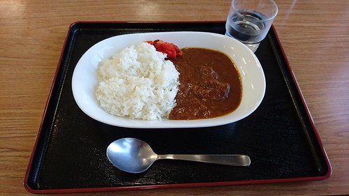 道の駅で昼食