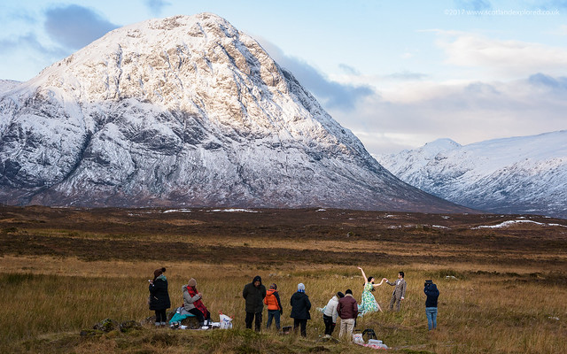 Bollywood at the Buachaille