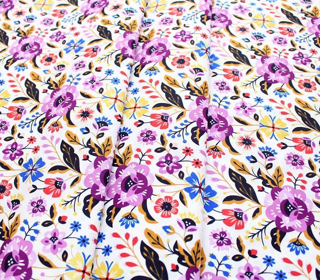 Cloud9 Fabrics Bohemian Garden 200201 Rose Romance