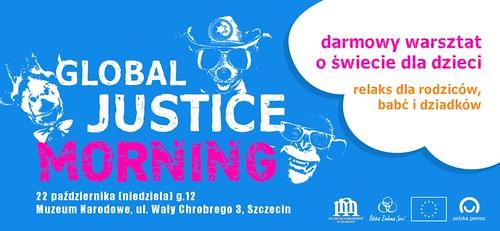 Global Justice Morning 2 w Szczecinie - warsztat dla dzieci