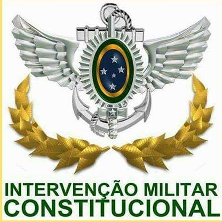 INTERVENÇÃO MILITAR JÁ