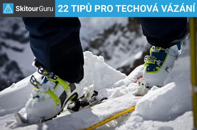 Techová vázání v praxi od A do Z, 22 tipů a rad.
