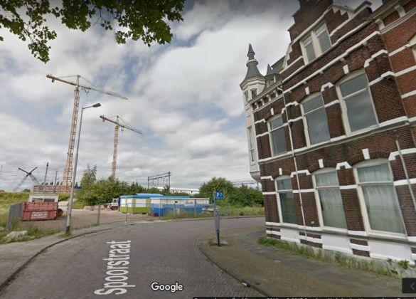 GoogleStreetviewSpoorstraatBreda