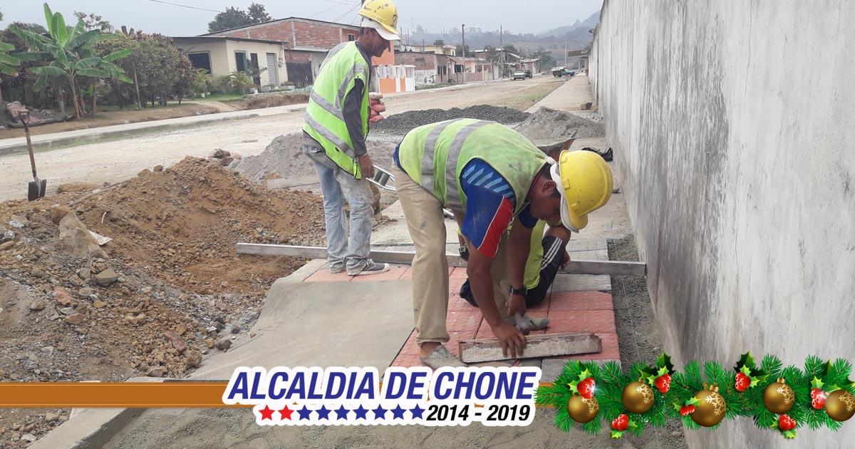 Rampas de inclusión social en calle Salustio Giler