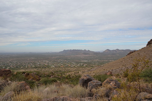 Lost Dutchman down to the campsite view