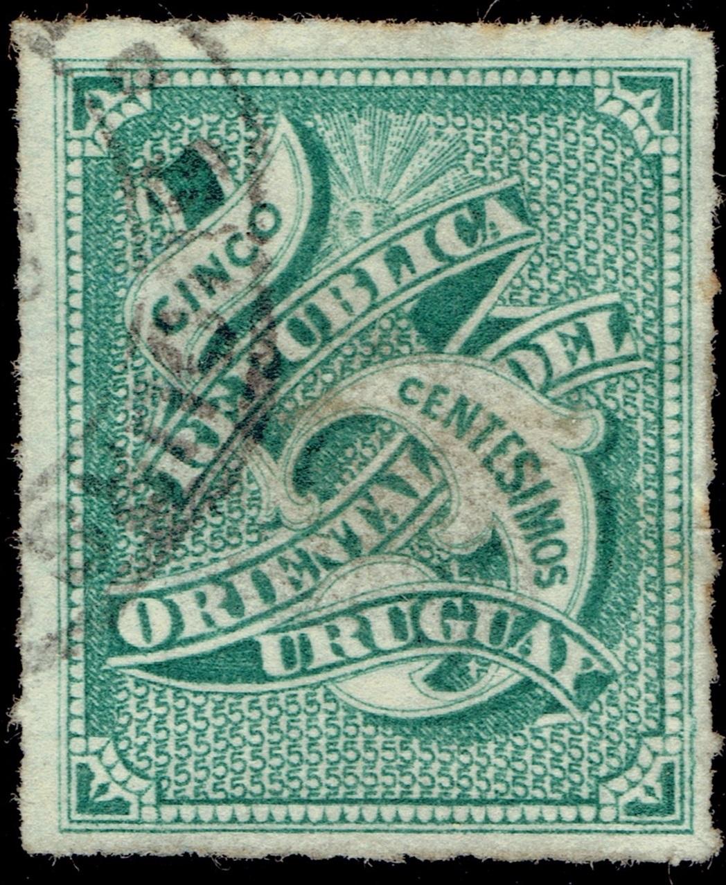 Uruguay - Scott #40 (1877)