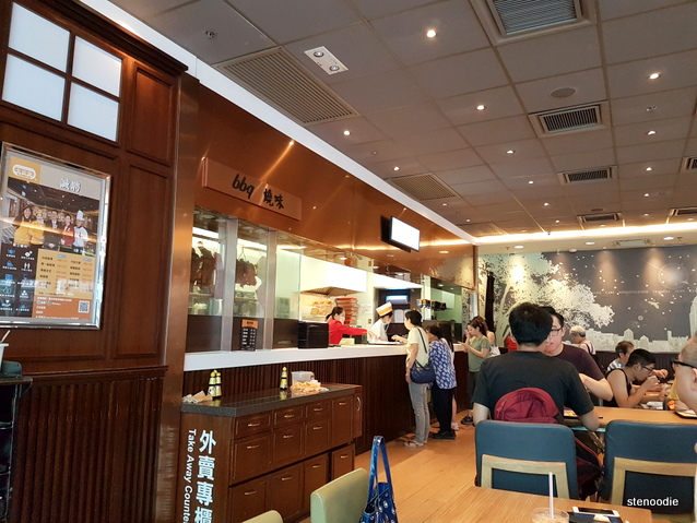 Cafe de Coral Hong Kong interior