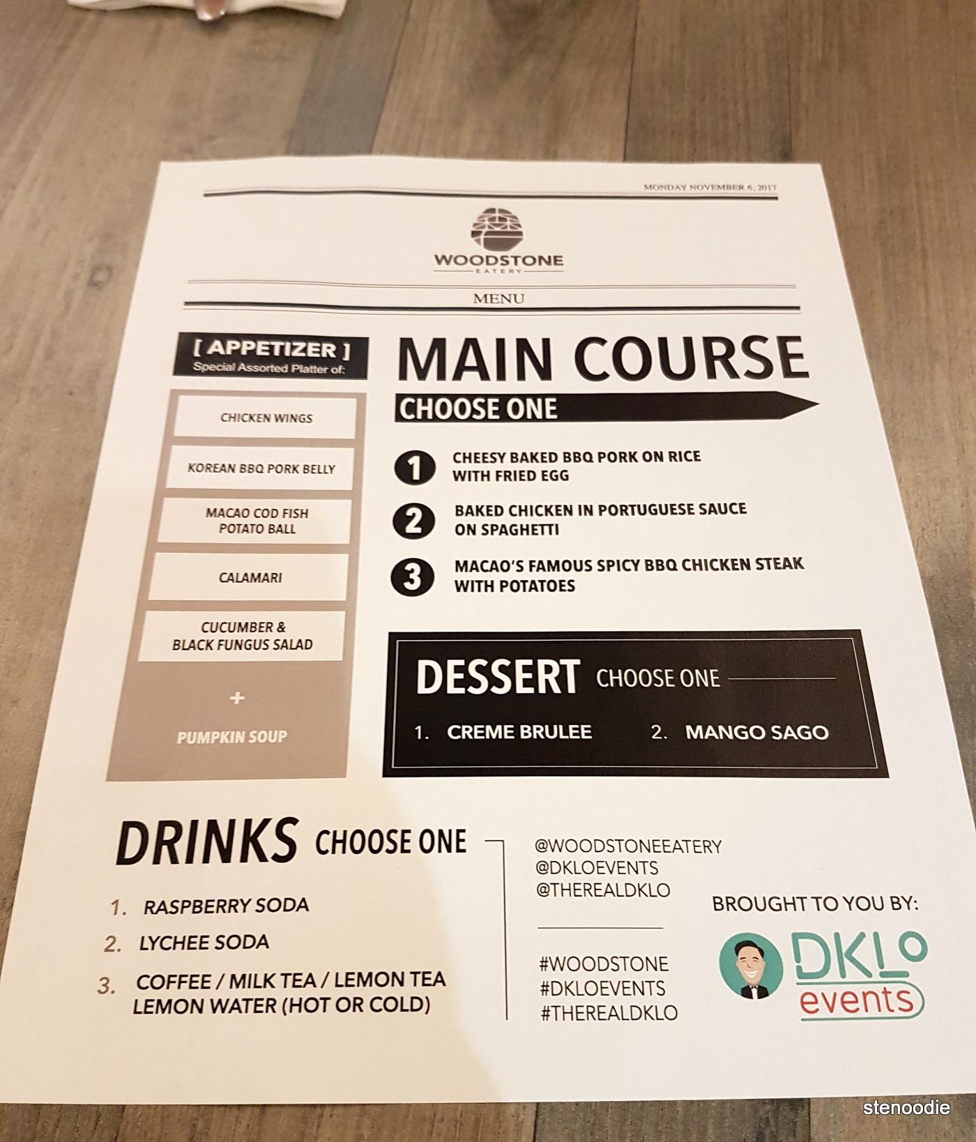 DKLoEvent menu
