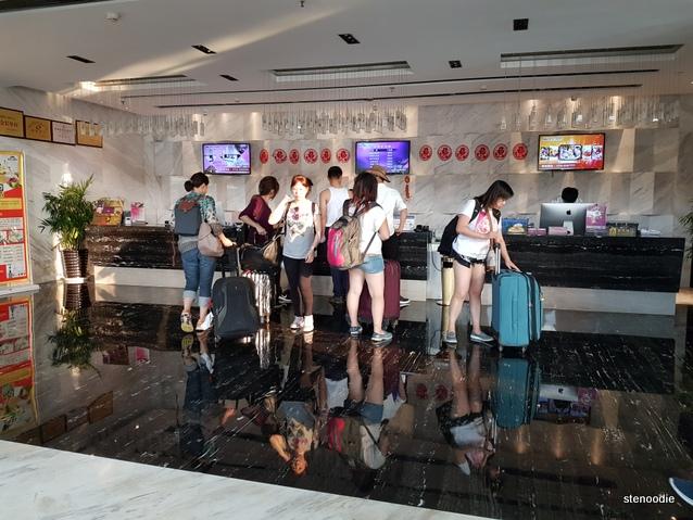 Mellow Crystal Hotel lobby