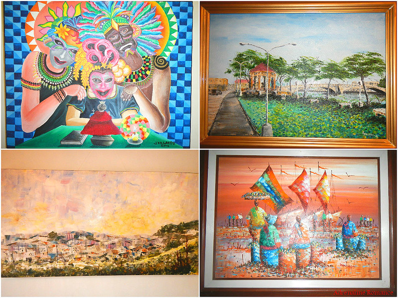 Paintings by local artists