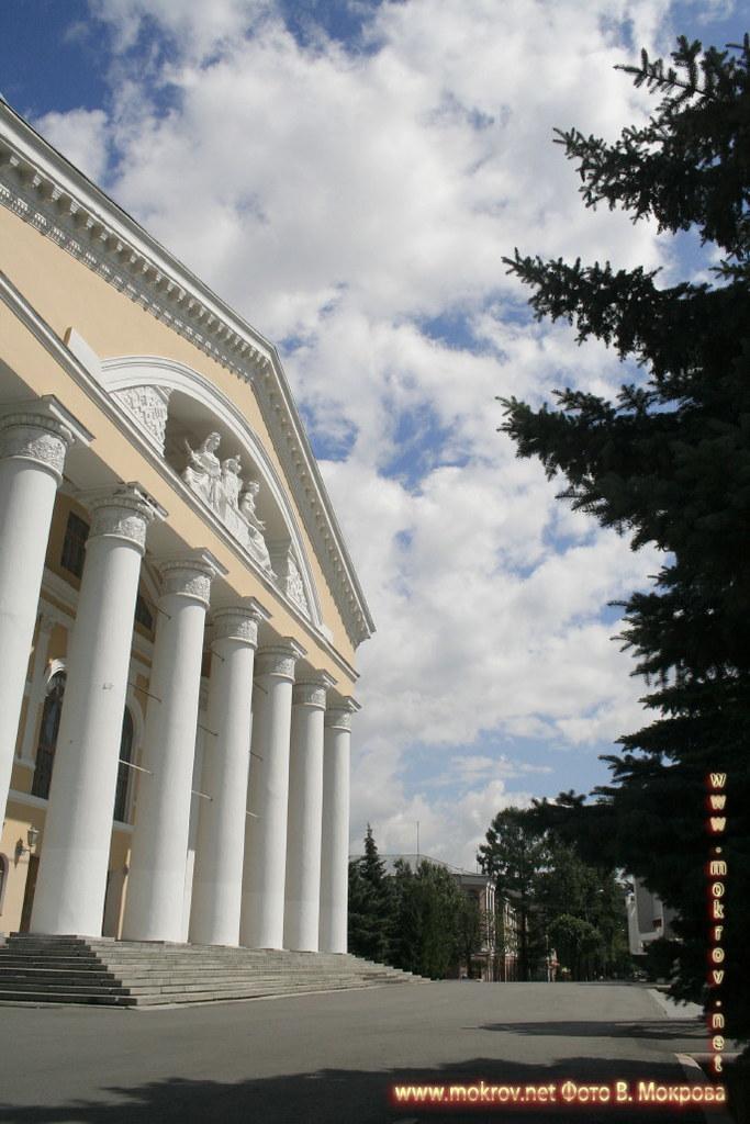 Город Йошкар-Ола. Театр им. Шкетана
