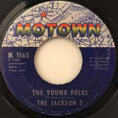 THE JACKSON 5:ABC(LABEL SIDE-B)