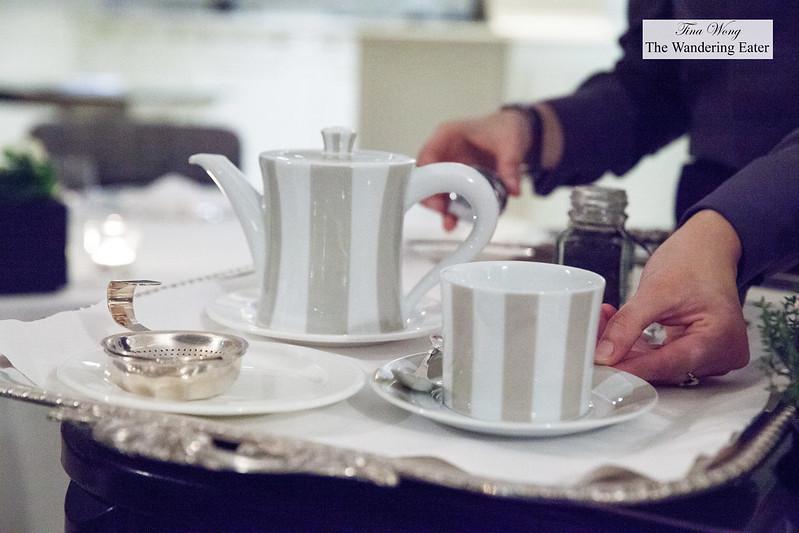 Earl Grey tea service