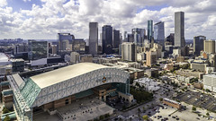 Minute Maid Park and Downtown Houston