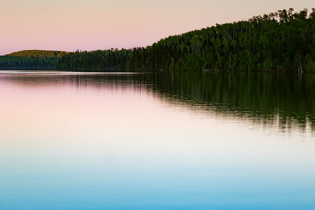 Boreal Sunset Reflections