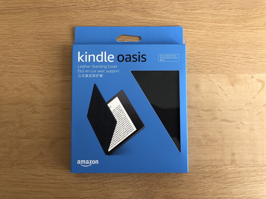 Kindle Oasis 2017 Amazon Leather Cover