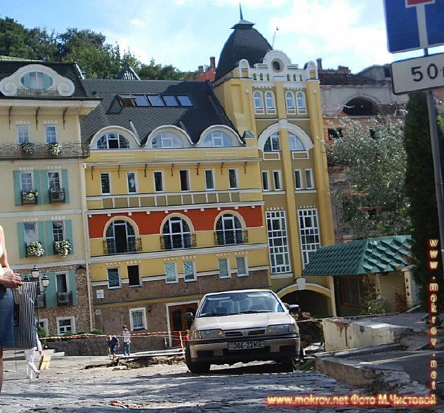 Город Киев фотографии сделанные как днем, так и вечером