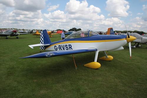 G-RVSR Van's RV-8 [PFA 303-14470] Sywell 010917