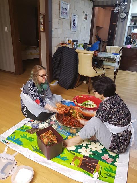 Creating kimchi 2