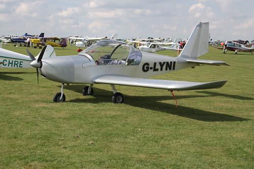 G-LYNI Evektor EV-97 [PFA 315-14409] Sywell 020917