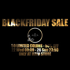 -AZUL- Black Friday Logo