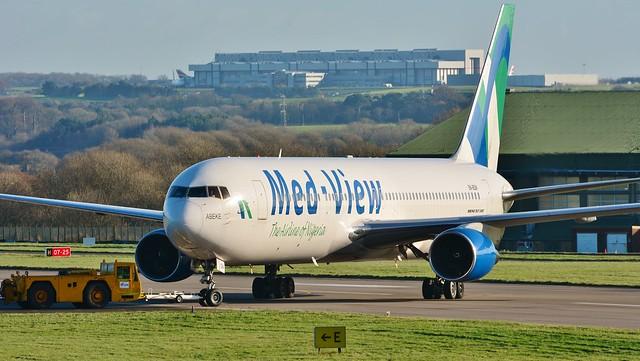 Boeing 767 5B-BQN Med View