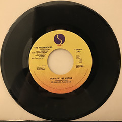 THE PRETENDERS:DON'T GET ME WRONG(RECORD SIDE-A)