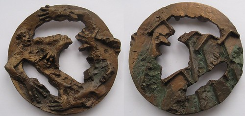 1995 Finnish Art Medal of the Year - Earthquake